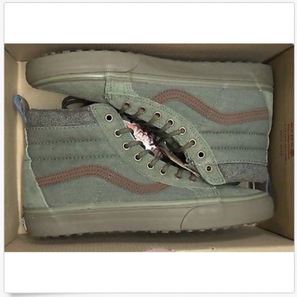 2825b0d0c27c4a Vans Sk8 Hi MTE DX Ivy Green Dark Gum Shoes